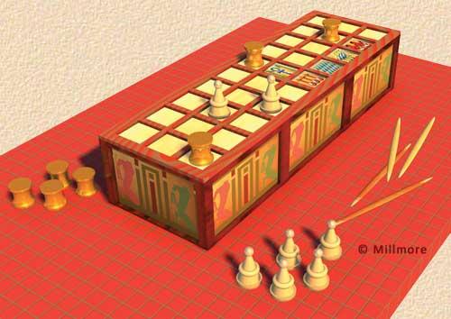 Ancient Egyptian Game of Senet